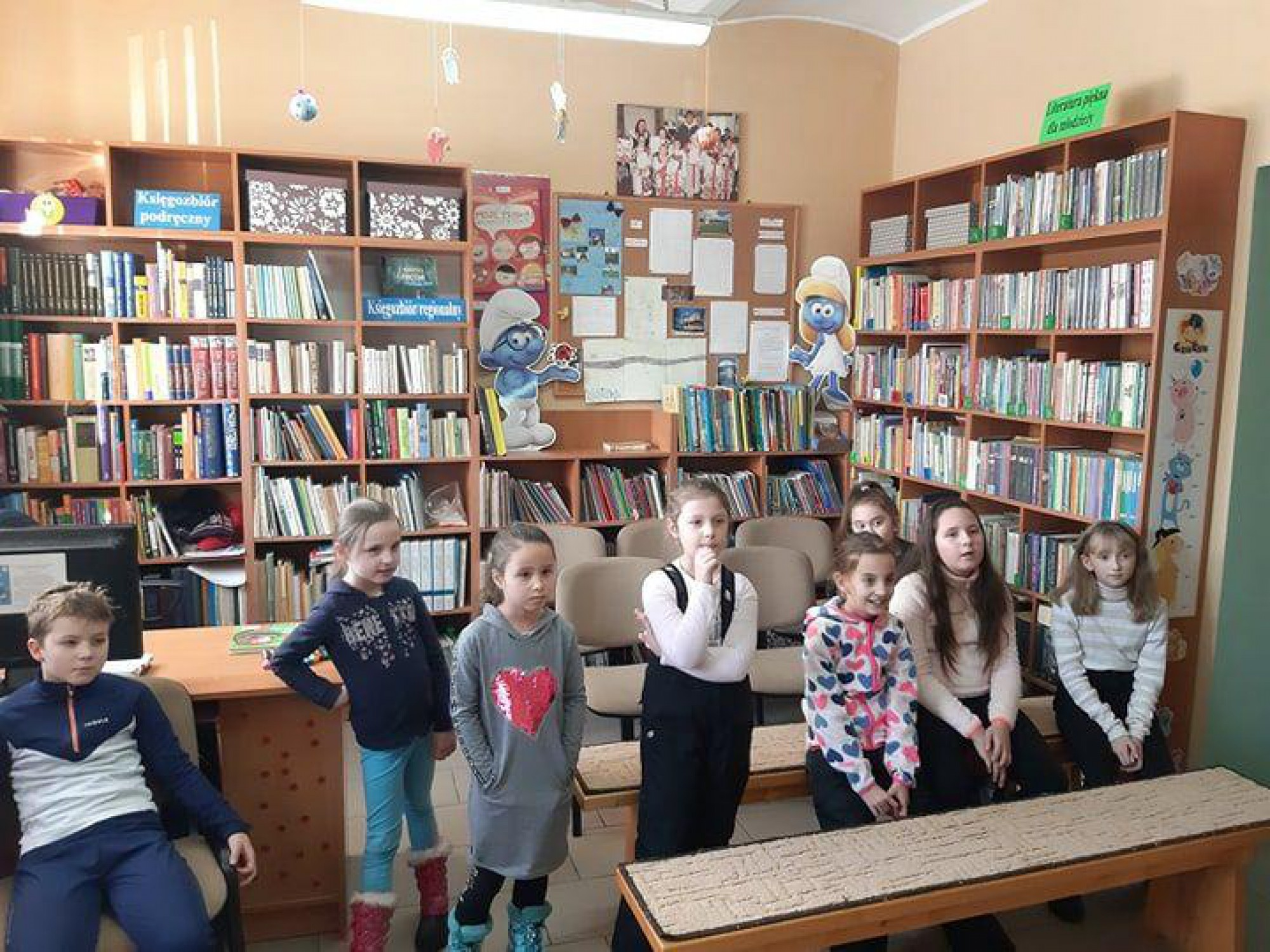 Ferie w Bibliotece Publicznej w Harklowej i w Ostrowsku